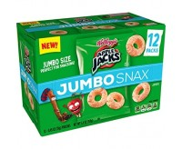 Apple Jacks Jumbo Snax, (12-Pack Box) (153g) (BEST BY DATE: 19-04-21)