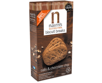 Nairn's Oats & Chocolate Chip Biscuit Breaks (160g)