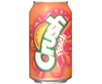 Crush Peach Soda - Fridge Pack (12x355ml)