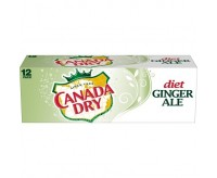 Canada Dry Diet Ginger Ale (12x355ml)