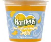 Hartley's Tropical No Added Sugar Jelly Pot (115g)