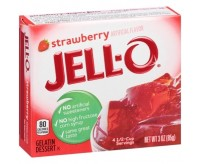 Jell-O Gelatin Dessert, Strawberry (85g)