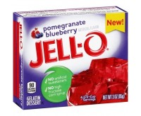 Jell-O Gelatin Dessert, Pomegranate Blueberry (85g)