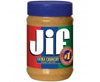 Jif Extra Crunchy Peanut Butter Jumbo Size (1.13kg)
