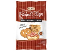 Snyder's Honey Mustard & Onion Pretzel Crisps (85g)
