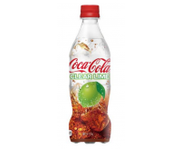 Coca Cola Clear Lime Bottle