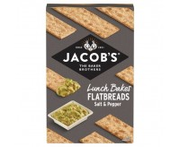 Jacob's Flatbreads Salt & Pepper Crackers (150g)