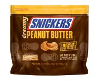 Snickers Creamy Peanut Butter Squares, Bag (219g)