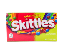 Skittles Sweets & Sours, Theater Box (99g)