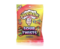 Warheads Sour Twists Bag (113g)
