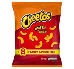 Cheetos Puffs Flamin' Hot Flavor (13g)