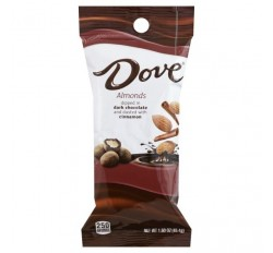 Dove, Dark Chocolate Dipped Almonds (45g)
