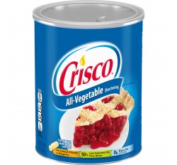 Crisco All-Vegetable Shortening (Large) (1,36kg)