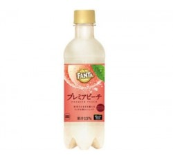 Fanta Premier Peach (Japanese Soda) (380ml)