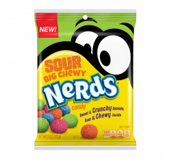 Nerds Big Chewy, Sour Candy (170g)