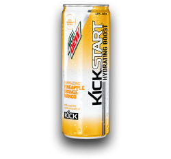 Mountain Dew KickStart, Pineapple Orange Mango