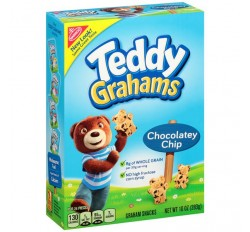 Teddy Grahams Snacks Chocolatey Chip (283g)