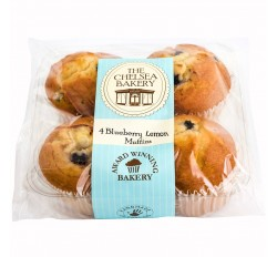 The Chelsea Bakery - Blueberry Lemon Muffins