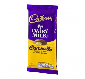 Cadburry Dairy Milk Caramello Milk Chocolate (113g) USfoodz