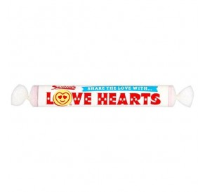 Swizzels Giant Love Hearts, Roll (39g)