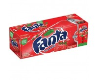 Fanta Strawberry - Fridge Pack (12x355ml)(BEST BY 23-04-20)