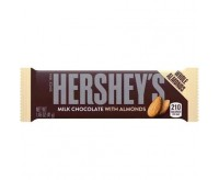 Hershey's Milk Chocolate With Almonds Bar (41g)
