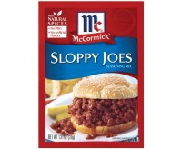 McCormick Sloppy Joes Seasoning Mix (37g)
