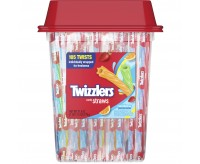 Twizzlers Twists, Rainbow - 105 Twists (779g)