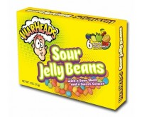 WarHeads Sour Jelly Beans, Theater Box (113g)